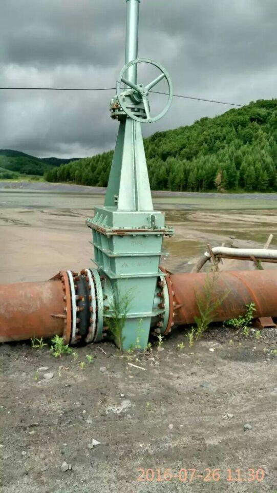 电动衬胶闸板阀配合使用、衬胶闸板阀(伞齿轮型)